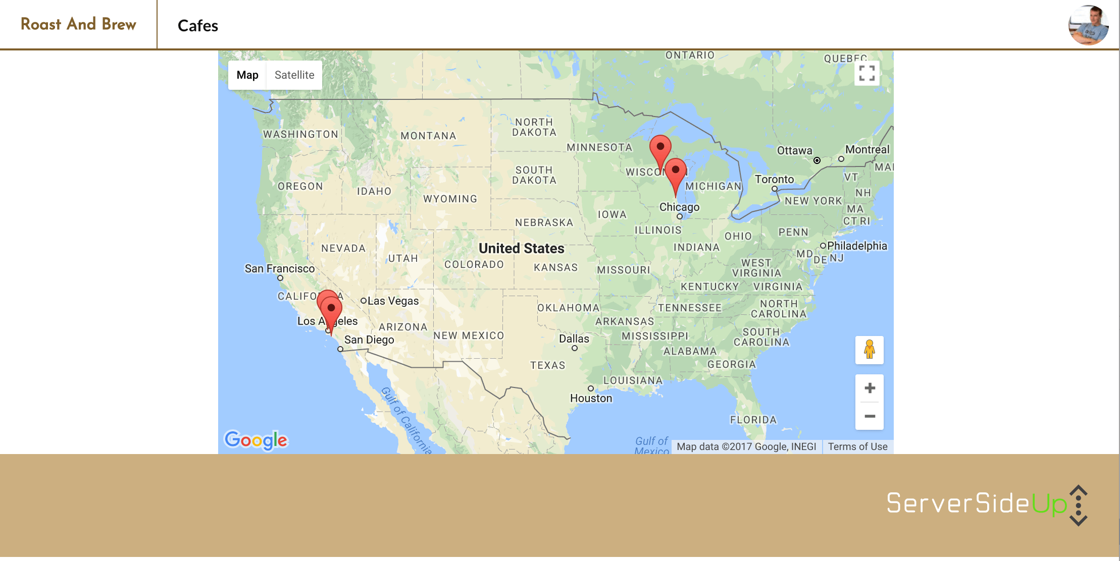 Displaying Resources on a Google Map With Vue JS - Server Side Up