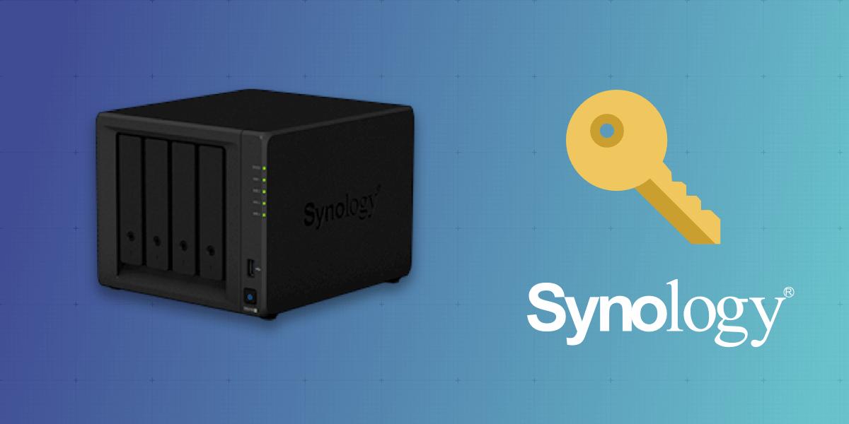 Enable key-based SSH authentication on Synology servers - Server Side Up